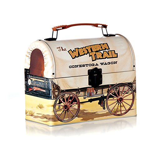 Sweet Potato Retro Covered Wagon Lunchbox, Tan