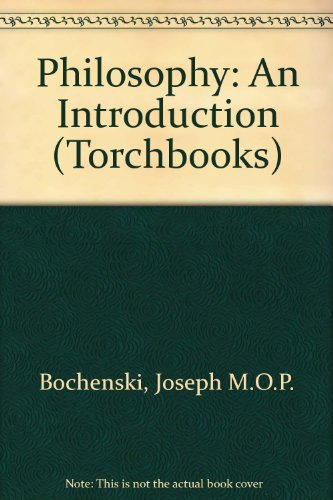 Philosophy: An Introduction (Torchbooks) PDF