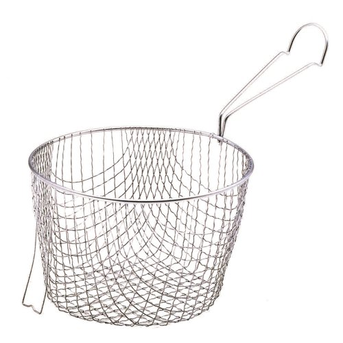 Kitchen Craft Stainless Steel Large Chip Fryer & Basket 20cm