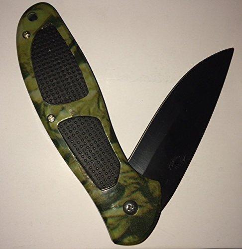 """Combat Ranger Camo Tactical Folder Knife, 5"""""""