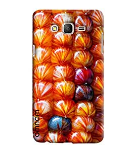 Omnam Colorful Shell Pattern Effect Printed Designer Back Cover Case For Samsung Galaxy On 7