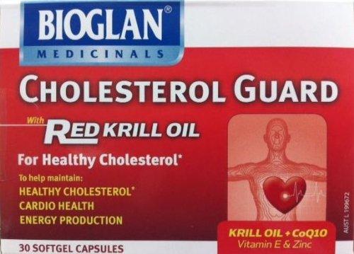 Bioglan Cholesterol Guard 30 Softgel Capsules
