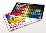 Inscribe Pastels, 64 Assorted Half Size