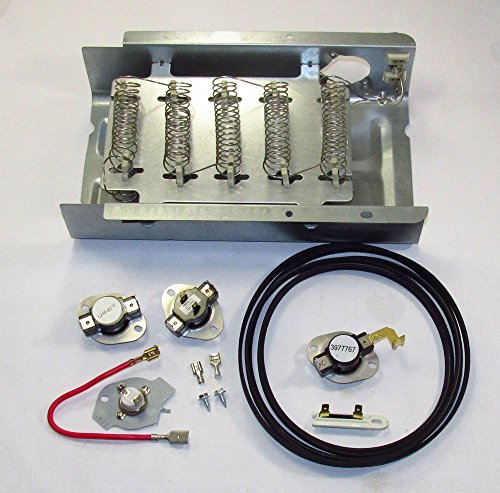 8565582 Heater Element For Whirlpool Kenmore Dryer and complete kits WITH all thermostats and fuses also new belt (Kenmore Dryer 70 Series compare prices)