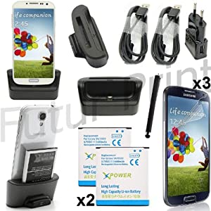 KIT SET ACCESSORI 13 in 1 per Samsung Galaxy S4 SIV gt-i9505 i9500