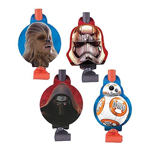 Shindigz Holiday Party Accessory Star Wars Blowouts (Star Wars Blowers compare prices)