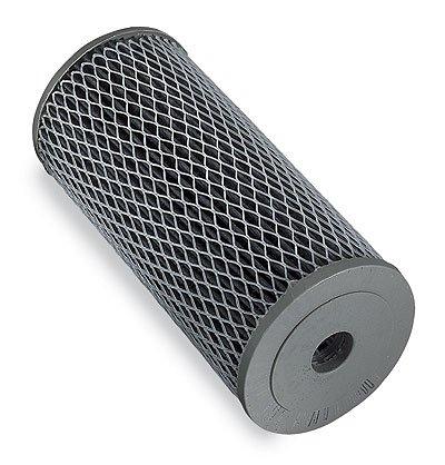 "Filter cartridge, ""Big Blue"", 10"", pleated carbon, 10 micron"