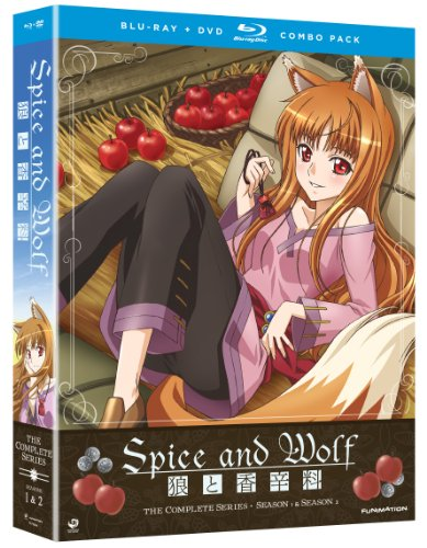Spice and Wolf - Complete Series (Season 1 and 2) [Blu-ray + DVD]