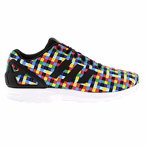 Adidas Originals ZX 8000 Flux Weave 3M Rainbow Reflective Woven Pack Men's Shoes (size 9.5) (Zx 8000 Weave compare prices)