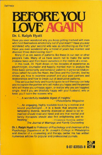 Before You Love Again