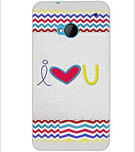 PrintDhaba Quote D-4825 Back Case Cover for HTC ONE M7 (Multi-Coloured)