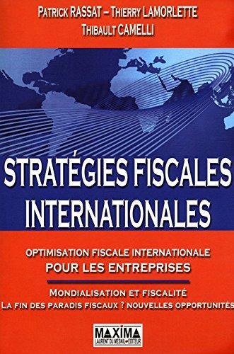 STRATEGIES FISCALES INTERNATIONALES