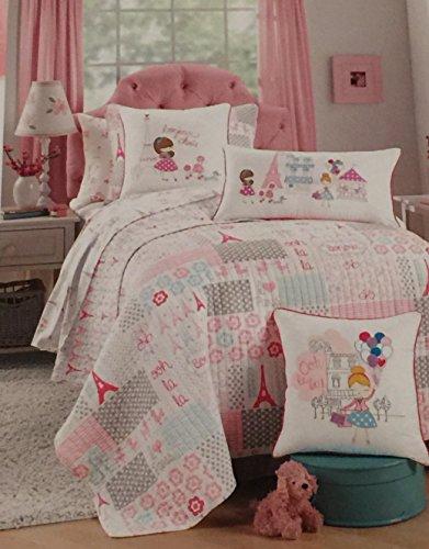Girls Paris Bedding