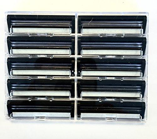 100 Personna Twin 2 ( TWIN II ) Razor blades - Compatible with GIllette's Trac 2 Razor system (Gillette Track 2 Razor Blades compare prices)