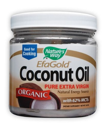 Nature's Way Organic Coconut Oil, 16 Ounce