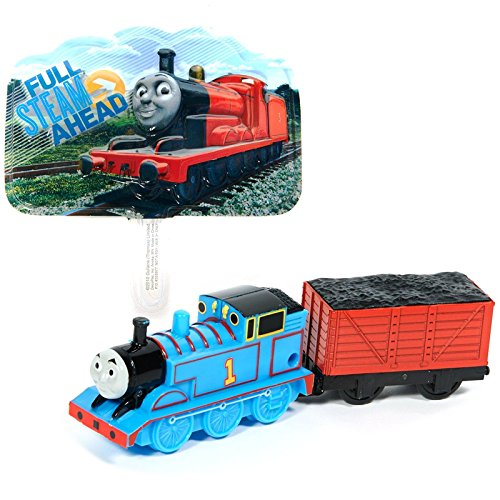 Thomas the Train and Coal Car Cake Topper (3 Pieces) (Thomas The Tank Engine Costume)