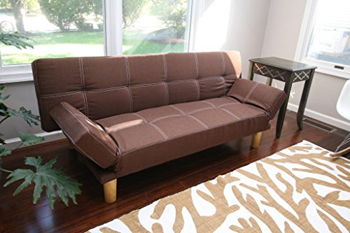 home-life-anderson-futon-sofa-bed-with-adjustable-arm-rests-brown-linen