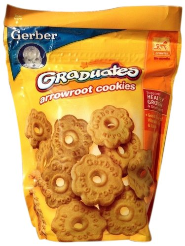 Gerber Graduates Arrowroot Cookies 5.5 oz