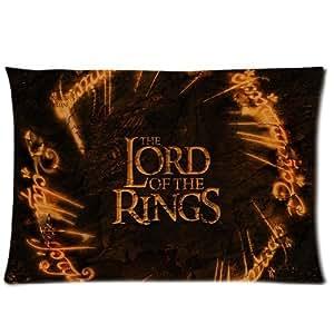 motif le seigneur des anneaux taie d 39 oreiller de taille standard 30 x 20 cm deux c t s. Black Bedroom Furniture Sets. Home Design Ideas