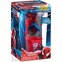 Marvel Amazing Spiderman 2 Toothbrush Holder Set, Smile Set, Toothbrush, Toothbrush Holder Stand And Cup 3 Pc...
