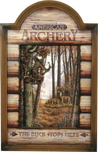 River's Edge Archery Hunters 3-D Pub Sign