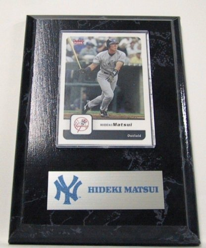 New York Yankees Hideki Matsui MLB Card Plaques at Amazon.com