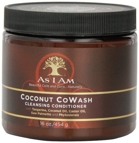 As I Am Coconut CoWash Cleansing Conditioner, 16 Ounces