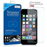 JETech Apple iPhone 5/5S/5C Film Protection en Verre trempé écran protecteur ultra résistant Glass Screen Protector pour iPhone 5/5S/5C
