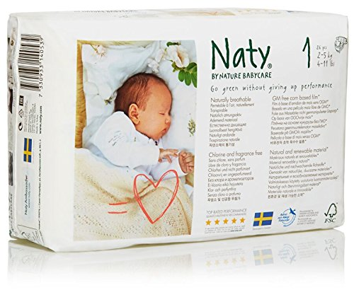 Naty Diapers - Size 1 - 26 ct - 1