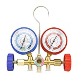 Orion R12 R22 R502 R134A A/C Diagnostic Manifold Gauge 3ft Set H/L Coupler Adapter