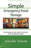 Simple Emergency Food Storage
