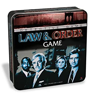 Law and Order Game in a Tin