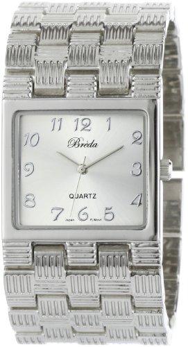 "Breda Women's 2264-Silver ""Ally"" Classic Silver Sleek Watch"