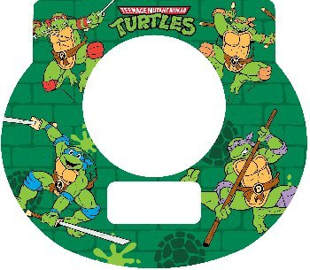 Tot Clock Faceplate Teenage Mutant Ninja Turtles - 1