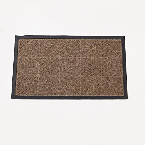 Floor mat rug indoor outdoor front door bathroom mats rubber non slip