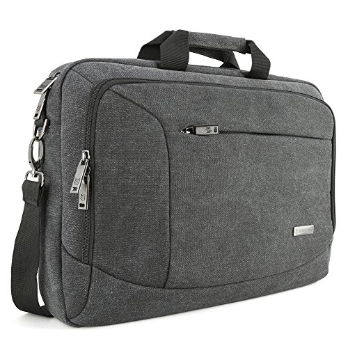 15-156-inch-laptop-messenger-bag-evecase-156-canvas-messenger-bag-dark-grey-w-handles-shoulder-strap