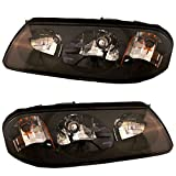 2000-2004 Chevrolet/Chevy Impala Headlights Headlamps Head Lights Lamps Pair Set Left Driver AND Right Passenger Side (2000 00 2001 01 2002 02 2003 03 2004 04)