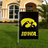 Garden Sized University of Iowa Double Sided 