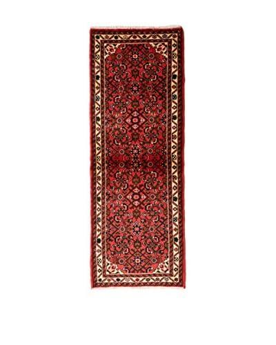 QURAMA Teppich Persian Hoseinabad rot/mehrfarbig 190 x 67 cm