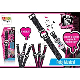 Monster High - reloj musical