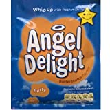 Birds Angel Delight Butterscotch Flavour 6 x 59gm sachet