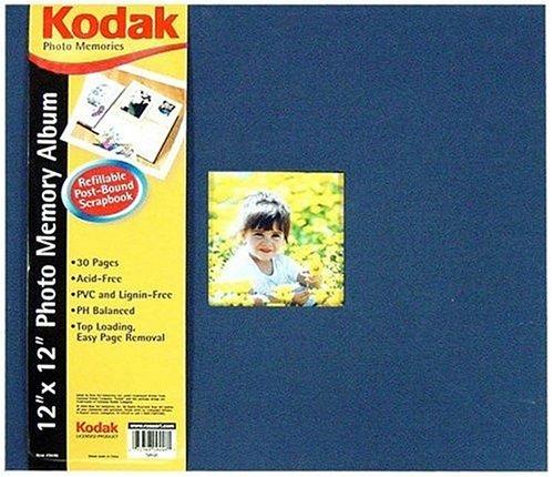 Kodak 12 X 12 Scrapbook - Navy - 1
