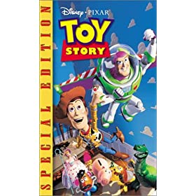 Toy Story (Special Edition) (Walt Disney Gold Classic Collection) [VHS]: Tom Hanks, Tim Allen, Don Rickles, Jim Varney, Wallace Shawn, John Ratzenberger, Annie Potts, John Morris, Erik von Detten, Lau