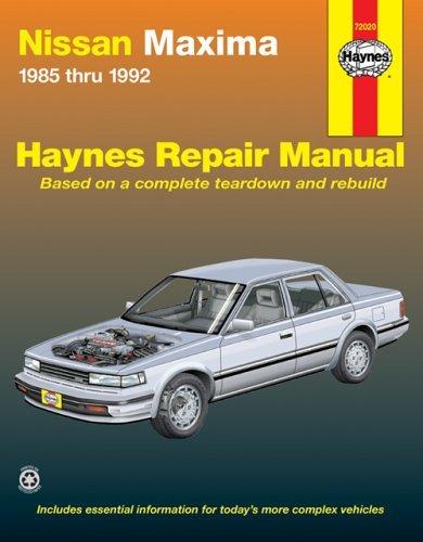 nissan-maxima-1985-thru-1992-haynes-repair-manuals-by-haynes-1999-01-15
