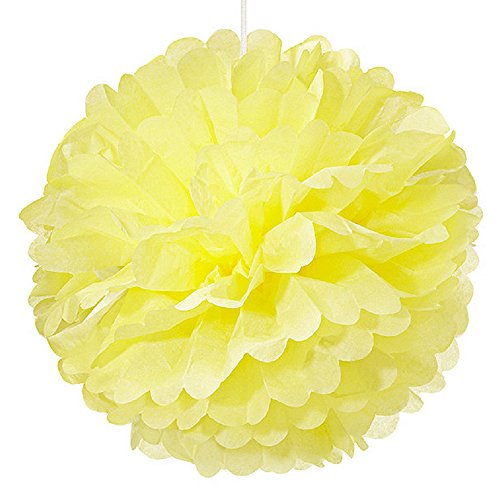 Weddingstar-Paper-Pom-Pom-Large-Yellow