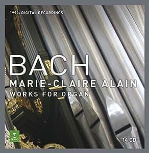 Bach : Oeuvres pour orgue (Coffret 14 CD)