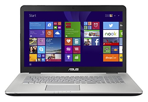 Asus Multimédia N751JK-T7236H PC Portable 17,3″ Aluminium (Intel Core i7, 16 Go de RAM, Disque dur 1 To + 128 Go de SSD, NVIDIA GeForce GTX850M 2 Go, Windows 8.1)