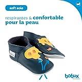 Bobux BBG 4147 Babyschuhe, großes Stern-Design, Grün -