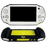PS VITA 2nd PSV2000 用シリコン スキン ケース 保護カバー ハンディ グリップ(ホワイト)