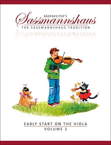 Early Start on the Viola, Volume 2 -A viola method for children-. Spielpartitur